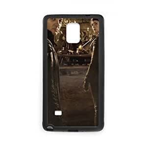 Hansel And Gretel Witch Hunters 2 funda Samsung Galaxy Note 4 caja funda del teléfono celular del teléfono celular negro cubierta de la caja funda EEECBCAAJ11244