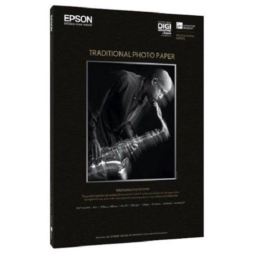 Epson Traditional Photo Paper Papier photo A3 plus (329X483 mm) - 325g/m² 25 feuille(s)
