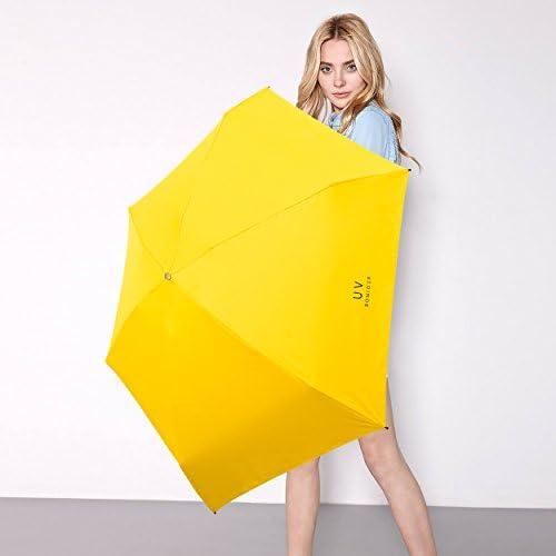 Pink Orgen Mini Compact Sun/&Rain Umbrella Lightweight Portable Small Umbrella Travel Parasol with 95/% UV Protection