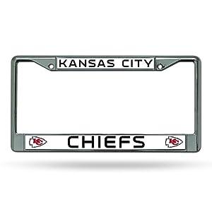 Kansas City Chiefs Metal Frame Acrylic Top & Bottom Inlaid Mirror ...