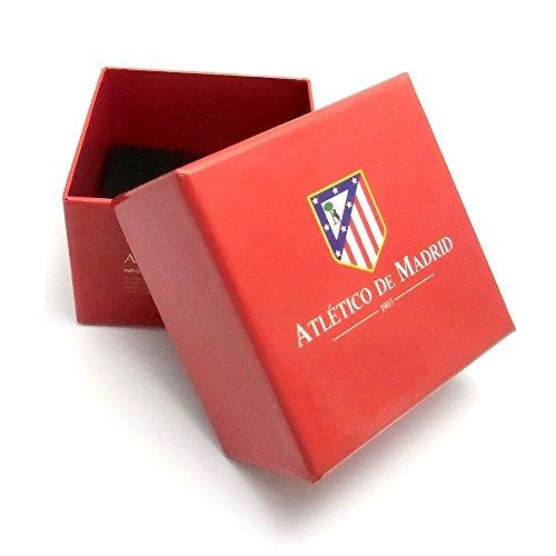 Pin Atletico Madrid loi bouclier 18k de 16mm en or. [6975] - Modèle: 20-036