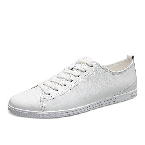Minitoo LHEU-LH1688, Sneaker Uomo, Bianco (White), 39.5 EU