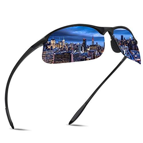 JULI Polarized Sports Sunglasses for Men Women Tr90 Unbreakable Frame for Running Fishing Baseball Driving MJ8002