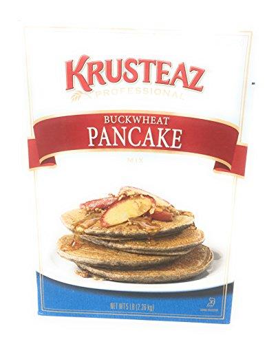 Krusteaz Buckwheat Pancake Mix, 5-Pounds (The Best Buckwheat Pancakes)