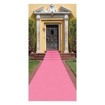 Pink Polyester Aisle Carpet Runner-24