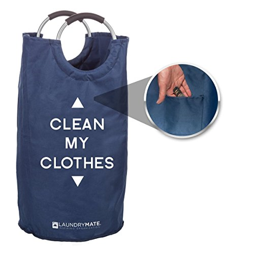 Laundrymate Extra Large Capacity Laundry Bag - With 2 Coin P