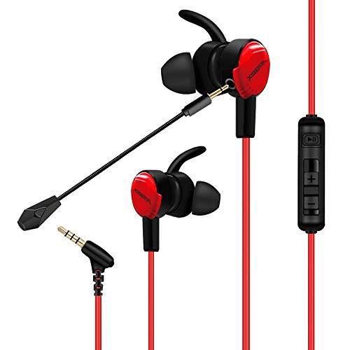 Consumer Electronics Earphones & Headphones XIBERIA MG-1 3.5mm Gaming Headsets Dual Microphone PS4 Controller Headset Dual Electronics Consumer Headphones