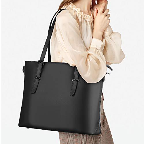 Laptop Tote Bag for Womens Laptop Shoulder Bag for Work/School