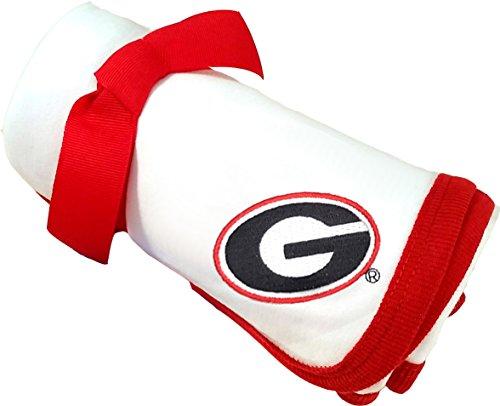 Georgia Bulldogs Baby Receiving Blanket