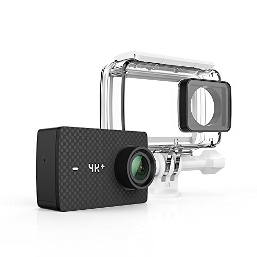 YI 4K+/60fps Action Camera with Waterproof Case, Plus Voice Control, Live Streaming, and 12MP RAW Image (Black) by...