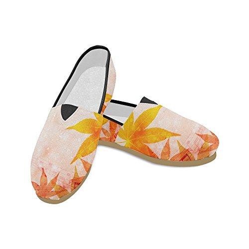 M-story Fashion Sneakers Flat Mare Wave Donna Classico Slip-on Scarpe Di Tela Mocassini Multi9