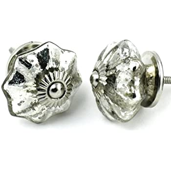 drawer rhinestone knobs shaped pulls handle glass door furniture cabinet flower hardware item silver crystal