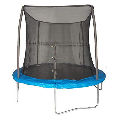 JumpKing 10 Feet Outdoor Trampoline and Safety Net Enclosure, Blue | JK10VC1 by JumpKing