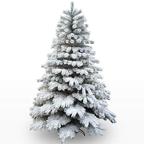 XL- Árbol de Navidad Árbol de Aguja de Pino Tipo de encripción Adorno de Navidad Decoración 180cm / 210cm Árbol de Nieve...