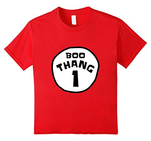 Kids Boo Thang One T-shirt 8 (Thing One Costumes Ideas)