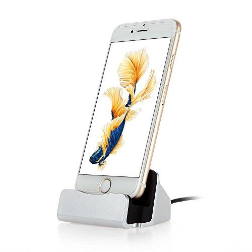 iPhone 7 8 Charging Dock, VONOTO iPhone Charging Station Charger Dock for iPhone 8,iPhone 8 Plus iPhone X, iPhone 7 / 7 Plus,6 6S Plus 5 (Ipod Touch Docking Station)