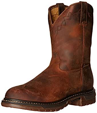 Rocky Men's FQ0001108 Western Boot, Trail Brown, 10 M US