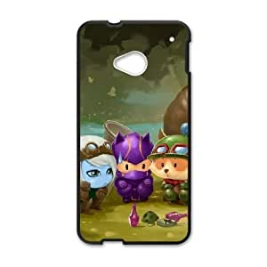 HTC One M7 Cell Phone Case Black Omega Squad Teemo league of legends Popular Games image KOL1368268
