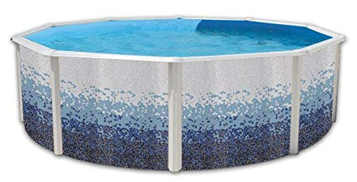 TOI - Piscina TRENCADÍS CIRCULAR 350x120 cm Filtro 3,6 m³/h.: Amazon.es: Juguetes y juegos