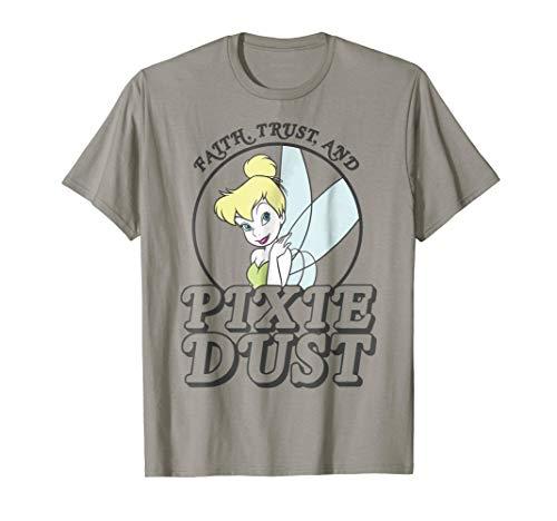 Disney Peter Pan Tinker Bell Faith Trust Pixie Dust T-Shirt