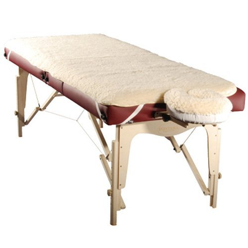 Therapist's Choice® Massage Table Fleece Pad set, 2 PC Set (Massage Table not included)