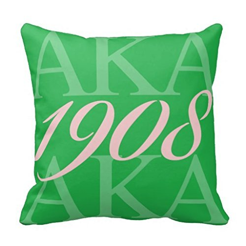 Doormat bikini AKA 1908 Throw Pillow Covers Home Decor Cushion Covers Zippered Canvas Pillow Protector Sofa Pillow Case 18 x 18 ()