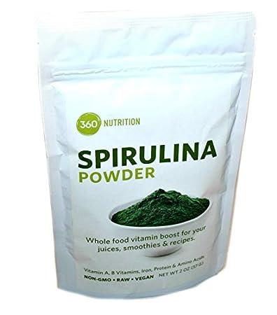 360 Nutrition Spirulina Powder 2 Ounce