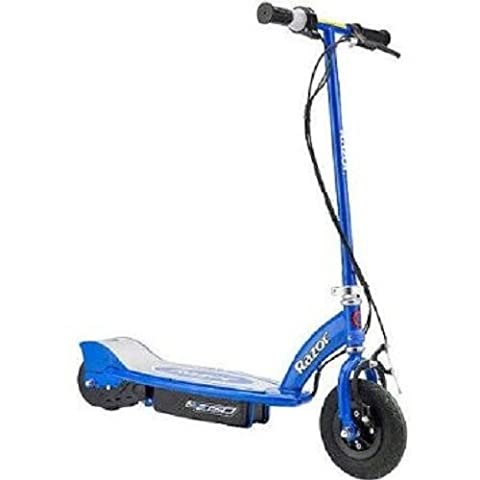 Razor E150 24-Volt Electric Kick Scooter with Battery and Charger (Blue)