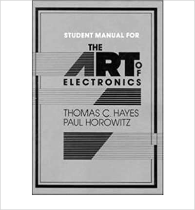 Book The Art of Electronics Student Manual: Student Manual (Paperback) - Common