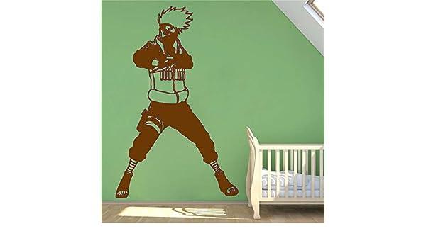 zhuziji Hatake Kakashi Fighter Naruto Wall Decal Vinyl Decal s ...