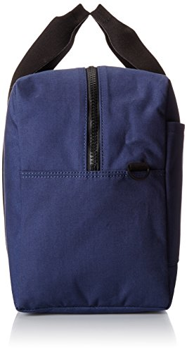 Jack Spade Men's Bonded Cotton Duffle Bag, Navy/Tank, One Size by Jack Spade (Image #3)