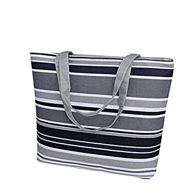 Ladies Cross Body Shoulder Bag Handbags Large Capacity Canvas Bags for Women TOPUNDER H