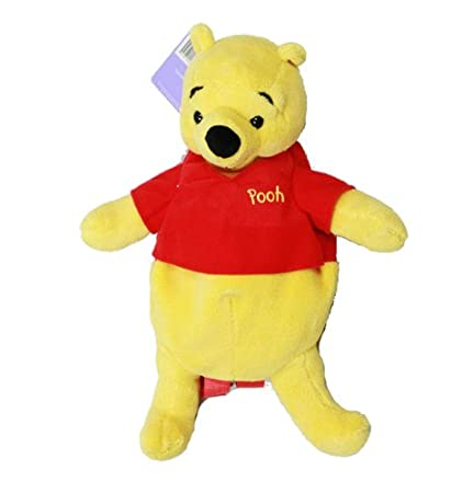 88a40f590b7 Image Unavailable. Image not available for. Color  Disney Winnie the Pooh  Plush Kids Backpack Buddy