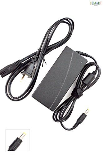 Ac Dc Adapter Charger replacement for PLANAR LCD Monitor PL120 PL150 PL170 PL170M PL171M PL190 PL190M PL191M PL191 PX171M PX191, PRELUDE ADI LCD Monitor MTADI701 MTPRE15 MTPRE19 MTPRE23 LCD LED TV Monitor Power Supply Cord Plug (1 Free Usmart Euro Plug Travel Attachment with your Order)