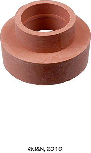180-12081 - J&N, Grommet, 0.55'' / 14mm ID, 0.67'' / 17mm OD, Red Battery Terminal - Pack of 4