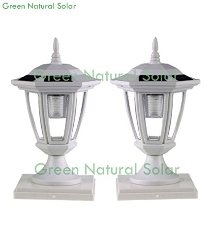 5X5 Fence Post Solar Lights in US - 7