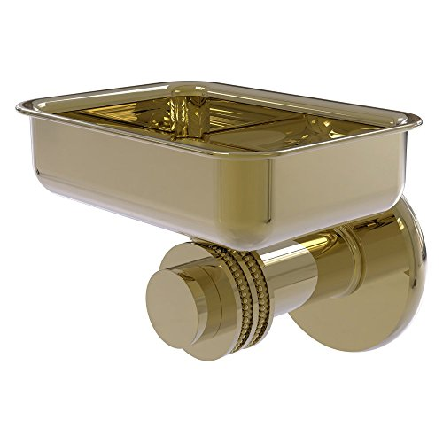 Allied Mercury Soap Dish (Allied Brass Mercury Wall Mounted Soap Dish with Dotted Accent)