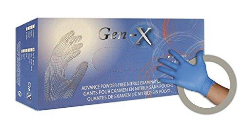 dutscher 603501/guantes de nitrilo Gen-X tama/ño XS Pack de 100