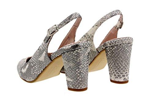 Confort 1210 Amples Cuir Chaussure en Natural Confortables Femme PieSanto Scarpin Tqvf8vE