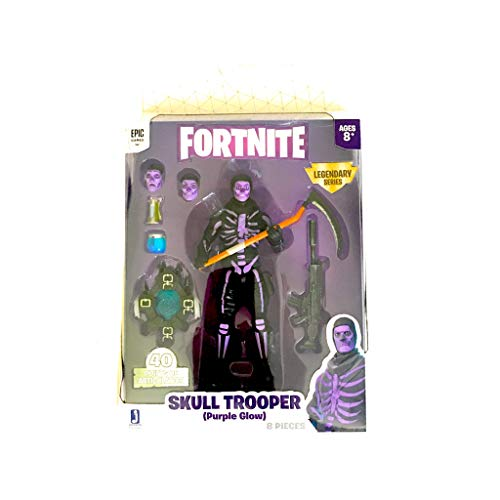 Epic Games Fortnite Legendary Series Skull Trooper Purple Glow