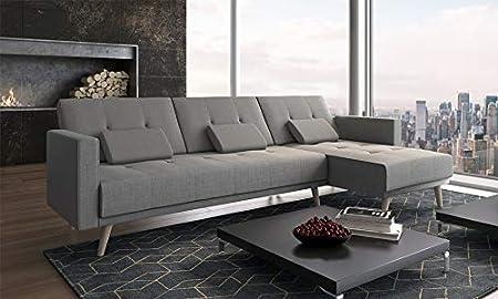 Divano Letto Ad Angolo In Pelle.Comfort Home Innovation Divano Convertibile Ad Angolo Verona