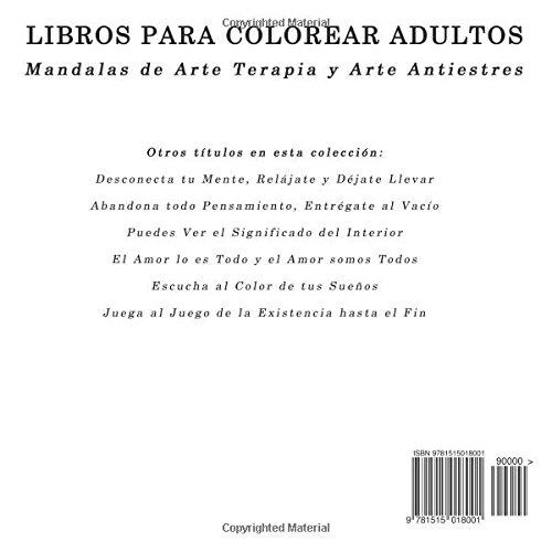 Libros para Colorear Adultos: Mandalas de Arte Terapia y Arte ...