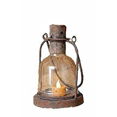 Your Hearts Delight Lantern That Holds LED Candle, 5-Inch