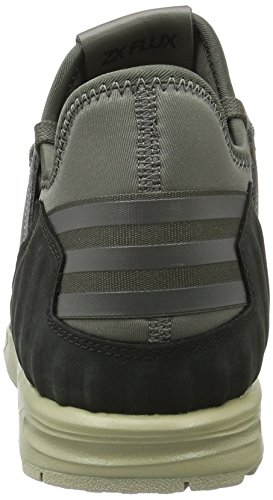 adidas Zx Flux Plus, Zapatillas Altas para Hombre, Gris Verde (Utility Grey/utility Grey/ftwr White)