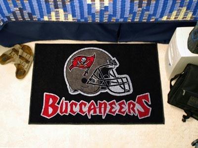 Fan Mats Tampa Bay Buccaneers Helmet Starter Rug, 20