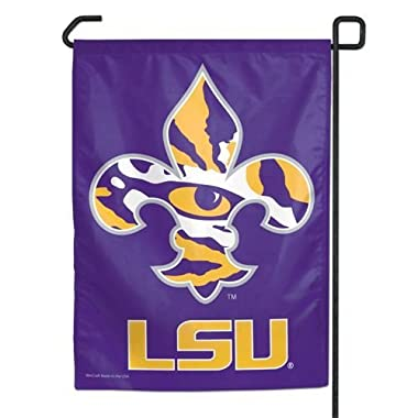 NCAA LSU Tigers Garden Flag, 11 x15 , Team Color