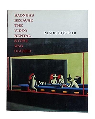 ビデオ・レンタル・ストアが閉っていて、悲しい。―マーク・コスタビ画集