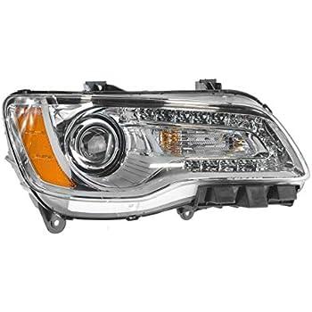 11-14 Chrysler 200 Bumper Driving Fog Lights Lamps Bezel Cover Bulb Left Right
