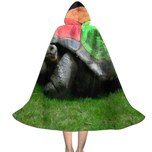 Hooded Cloak Cape Turtle Rainbow Amazing Party Vampires Cosplay for Kids Girls Boys