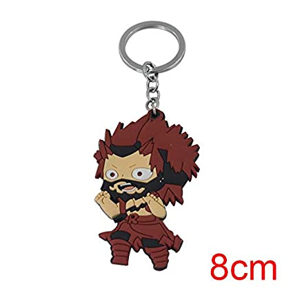 Momoso_Store my hero academia rubber 3d keychain key rings ...